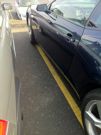 learn to park!