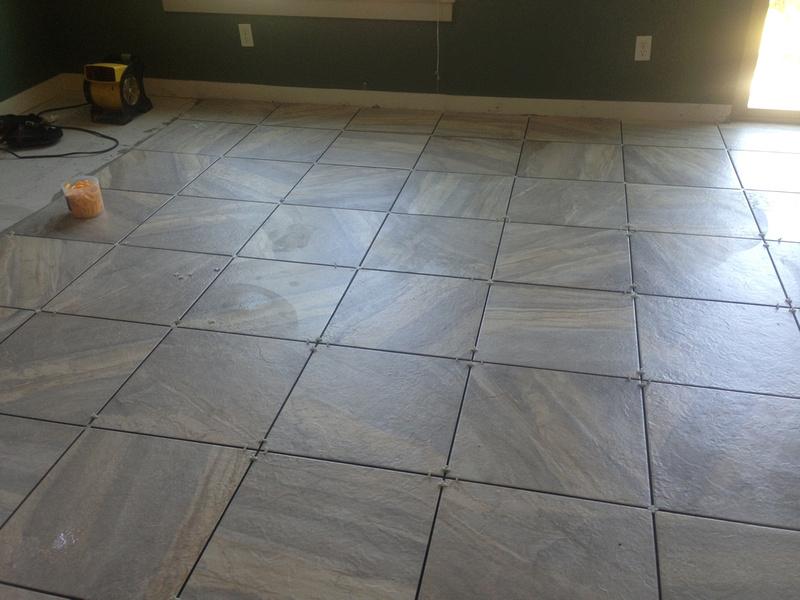 tile down