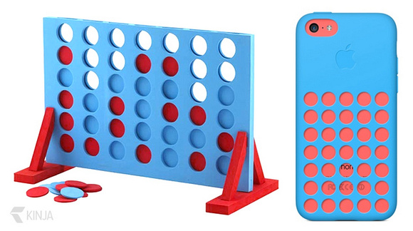 connect 4 and iPhone 5c